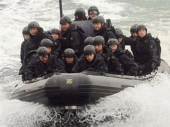 Японские военные, фото AFP
