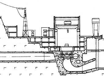 Иллюстрация к проекту Эвенкийской ГЭС с сайта regtime.spb.ru