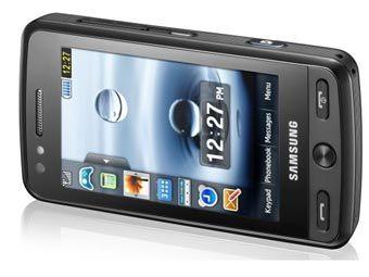 Samsung представила восьмимегапиксельный сенсорный камерофон