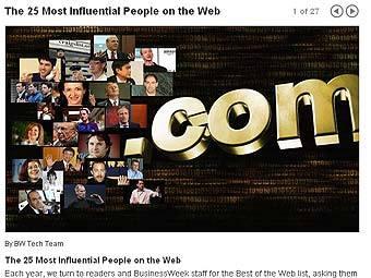 BusinessWeek назвал самых влиятельных людей Сети