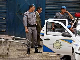 Полиция в Сан-Паулу. Фото ©AFP