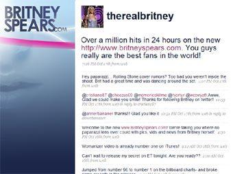 Бритни Спирс завела микроблог