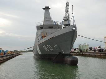 """Корабль """"Гуайкамакуто"""". Фото с сайта mnve.mil.ve"""