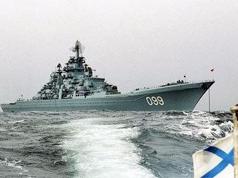 """Ракетный крейсер """"Петр Великий"""". Фото с сайта rosenergoatom.ru"""