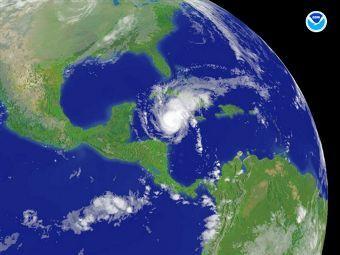 "Ураган ""Палома"". Фото ©AFP"