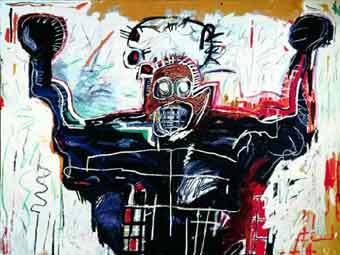 Ударник группы Metallica продал картину Баскиа на аукционе