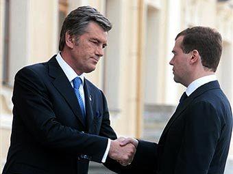 Ющенко все равно, что говорит Медведев - у него отпуск