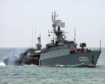 """Корвет """"Луцк"""" ВМС Украины. Фото с сайта flot.sevastopol.info"""