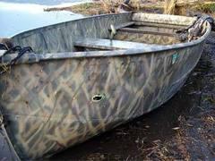 Лодка Мэтью Маркума. Фото полиции штата Орегон