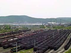 """Летний вид на станцию """"Находка-Восточная"""". Фото с сайта vpnet.ru"""