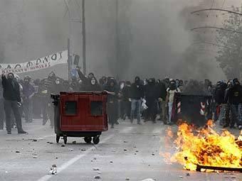 Беспорядки в Греции. Фото ©AFP