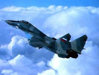 МиГ-29. Фото с сайта www.avia-mig.ru