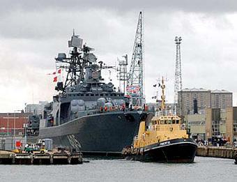"""БПК """"Адмирал Левченко"""". Фото с сайта atrinaflot.narod.ru"""