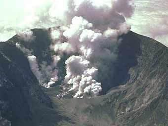 Извержение вулкана Сент-Хелен, 1980. Снимок NASA