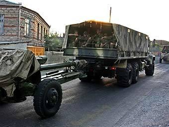 Южная Осетия заявила о переброске грузинских войск к границе республики