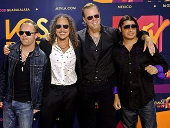 Metallica и Run DMC войдут в Зал славы рок-н-ролла