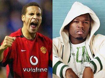 Рэппер 50 Cent взял интервью у футболиста Рио Фердинанда