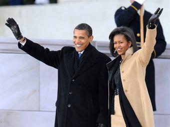 Обама приехал на концерт у Мемориала Линкольна