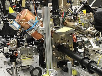 Физики впервые телепортировали ионы на метр