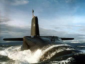 """Подлодка """"Вангард"""" ВМС Великобритании. Фото с сайта royalnavy.mod.uk"""