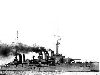 """Линейный корабль """"Дантон"""". Фото с сайта navweaps.com"""