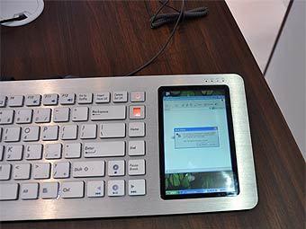 Клавиатура-компьютер ASUS. Фото с сайта engadget.com