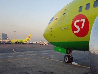 Самолеты S7. Фото пресс-службы авиакомпании