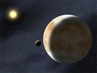 Луны Плутона формируют серию аккуратно вложенных орбит