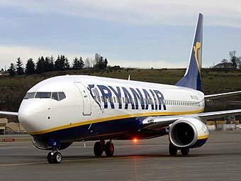 Самолет авиакомпании Ryanair. Фото с сайта boeing.com