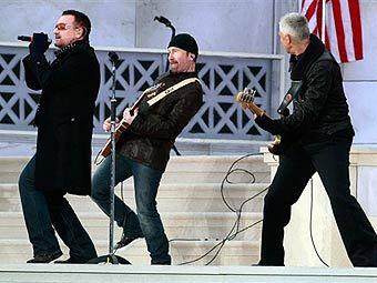 Новый альбом U2 возглавил американский хит-парад