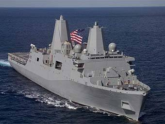 Корабль ВМС США New Orleans. Фото с сайта new-orleans.navy.mil