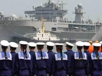 Китайские моряки. Фото с сайта people.com.cn