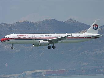 """Airbus A-321 авиакомпании """"Восточные китайские авиалинии"""". Фото с сайта airlinefan.com"""