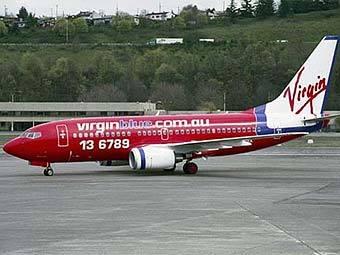 """Боинг-737"" авиакомпании Virgin Blue. Фото пресс-службы Boeing"