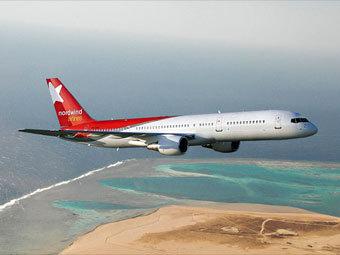 Самолет авиакомпании NORDWIND. Фото с сайта перевозчика