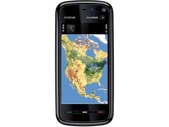 Nokia 5800. Фото пресс-службы компании