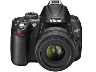 Nikon D5000. Фото пресс-службы компании