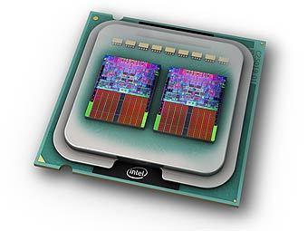 Процессор Intel. Иллюстрация пресс-службы компании