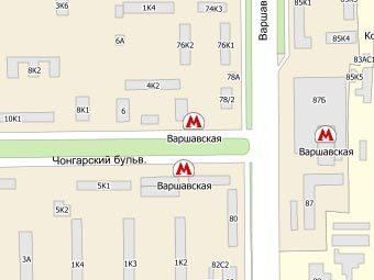 Московский милиционер сбил четырех пешеходов на тротуаре