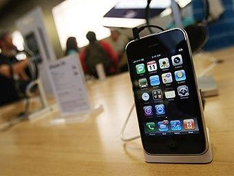 iPhone 3G. Фото ©AFP