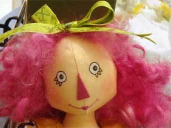 Тряпичная кукла. Фото с сайта lemontreetales.com