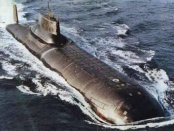 """Подводная лодка проекта 941 """"Тайфун"""". Фото с сайта bellona.no"""