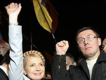 Тимошенко и Луценко обмениваются малявами