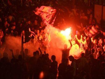 """Болельщики """"Барселоны"""". Фото ©AFP"""