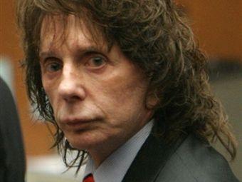 Суд присяжных признал Спектора виновным.  Фил Спектор.