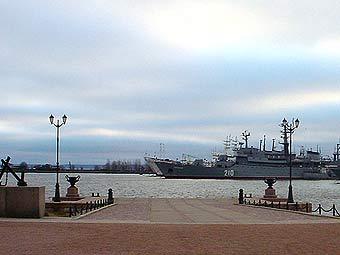 База Балтийского флота в Кронштадте. Фото с сайта navy.ru