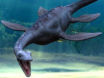 плезиозавр в Ла-Манше
