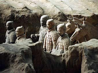 раскопки терракотовой армии