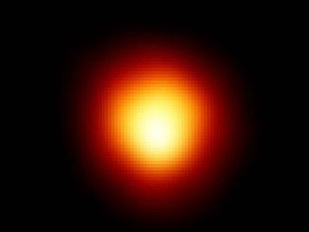 Бетельгейзе. Фото NASA/ESA