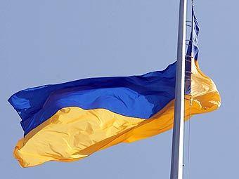 глумление над флагом Украины
